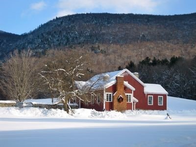 Winter time at the Barn