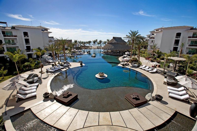 Cabo Azul Resort Tri Level Infinity Pool