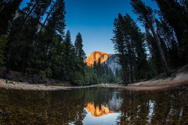 Marquis Villas Resort Half Dome Reflection In Yosemite