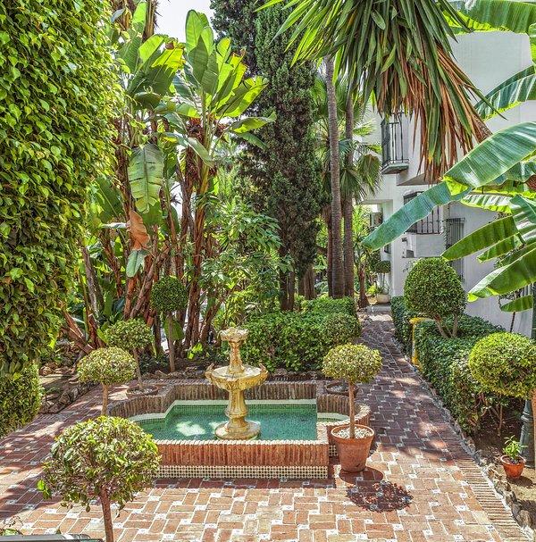 Royal Oasis Club at Pueblo Quinta Courtyard