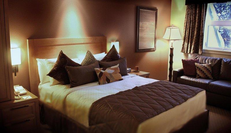 Lake Tahoe Resort Master Bedroom