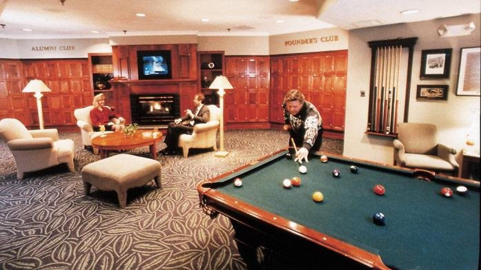 Varsity Clubs of America South Bend Bar Pool Table