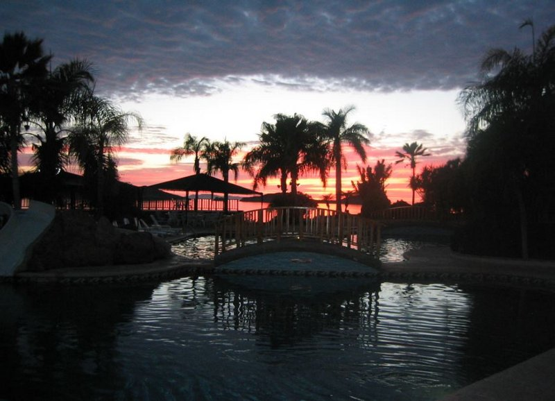 Sea of Cortez Beach Club Sunset