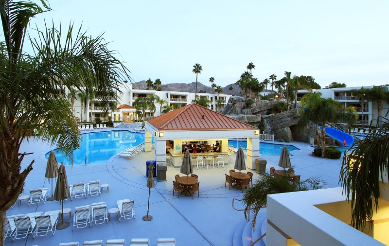 Palm Canyon Resort Pool Exterior