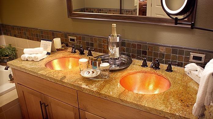 Lake Tahoe Resort Bathroom