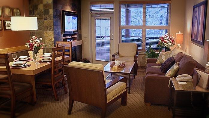 Lake Tahoe Resort Living Room