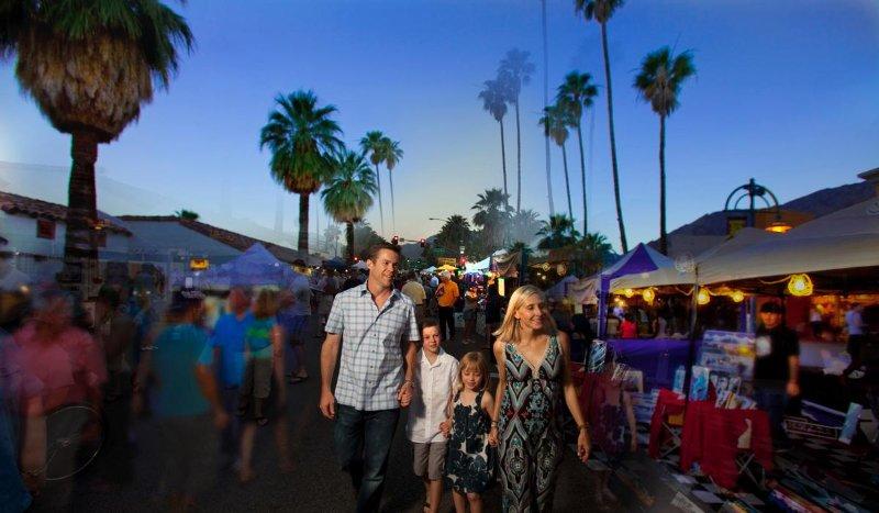 Village Fest in Palm Springs CA