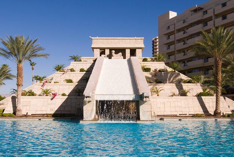 Cancun Resort Pool Waterfall