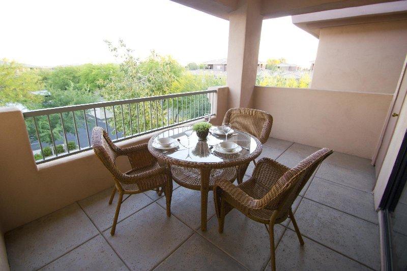 Scottsdale Links Resort Balcony