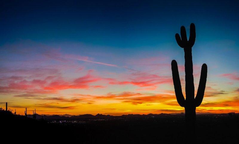 Scottsdale Villa Mirage Sunset