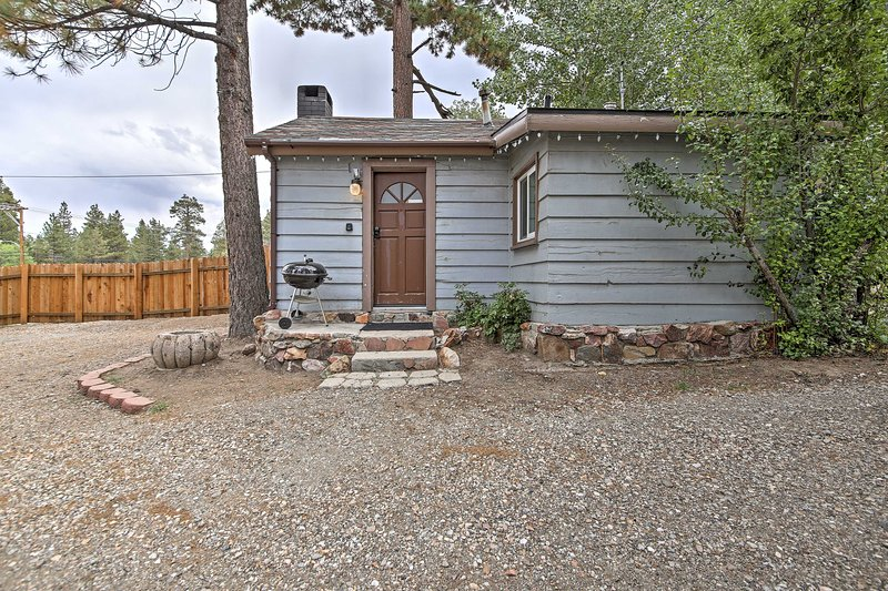Explore Southern California from this Big Bear Lake vacation rental studio cabin!