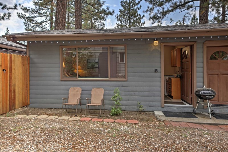 Escape to this charming vacation rental cottage in Big Bear Lake!