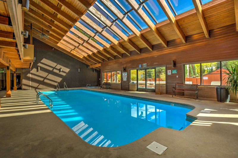 The property offers access to the many amenities of Mountain Side Condos.