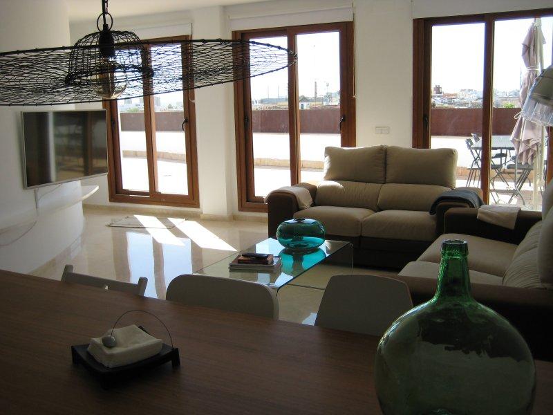 Penthouse + Terrace + Garage + WIFI, holiday rental in Lebrija