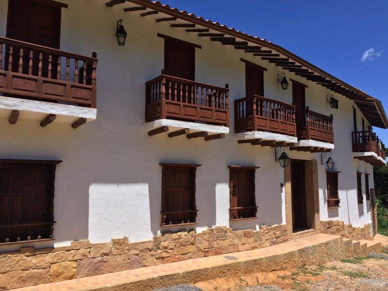 Casona El Retiro, Apartamento 3 Habitaciones, aluguéis de temporada em Aratoca