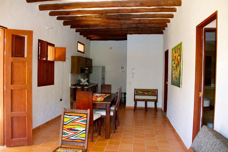 Casona El Retiro Apartamento 2 Habitaciones, aluguéis de temporada em Aratoca