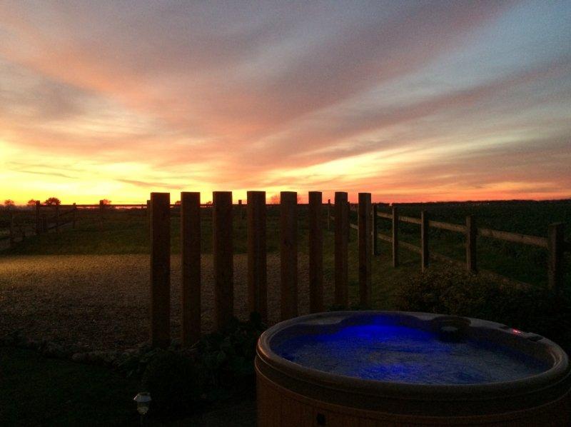 Otra hermosa puesta de sol
