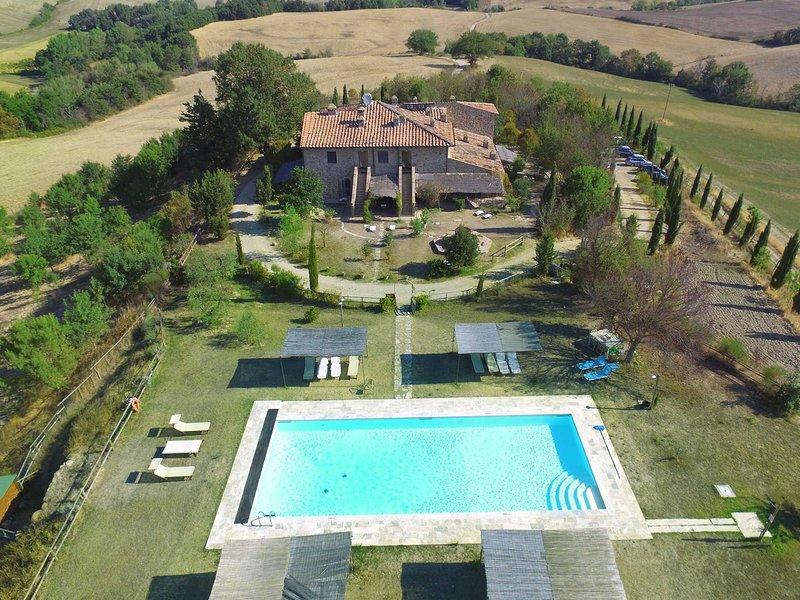 MELOGRANO apartamento CASALE REFOLI 4+1 personas, casa vacanza a Monteguidi