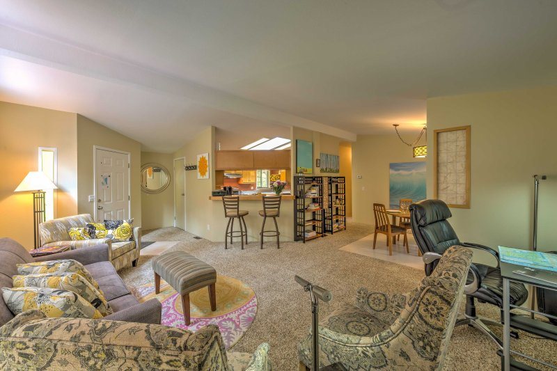 This prime spot is perfect for families eager to relax and enjoy the ease of the Northwest, just outside of the bustling city while still being close to the coast and the historic downtown