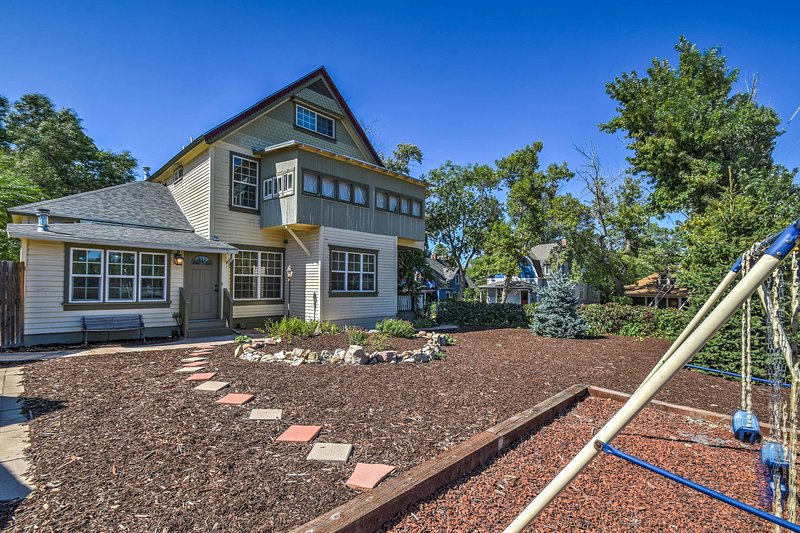Built in 1894, this remodeled home is set in a historic downtown neighborhood.