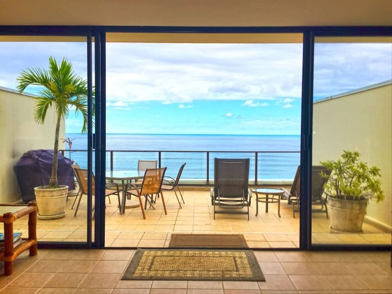 Enjoy stunning views from this Princeville vacation rental condo's private lanai!
