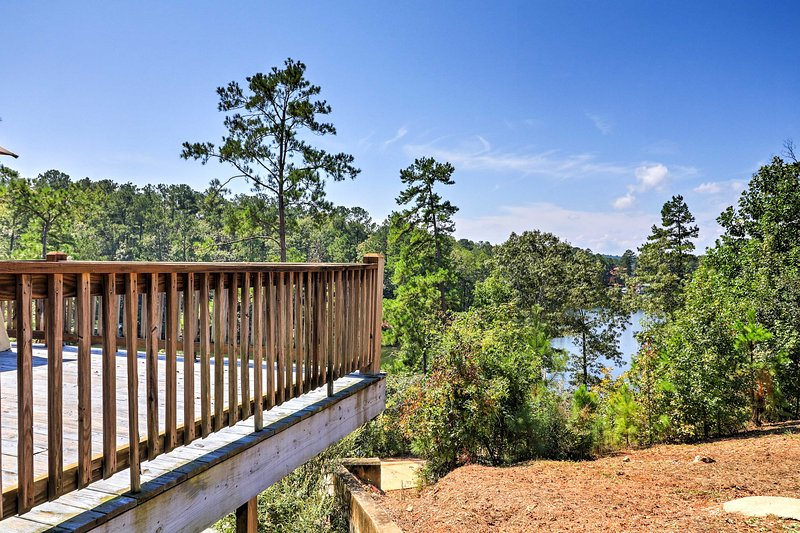 Bask in the gorgeous views offered from the spacious deck!