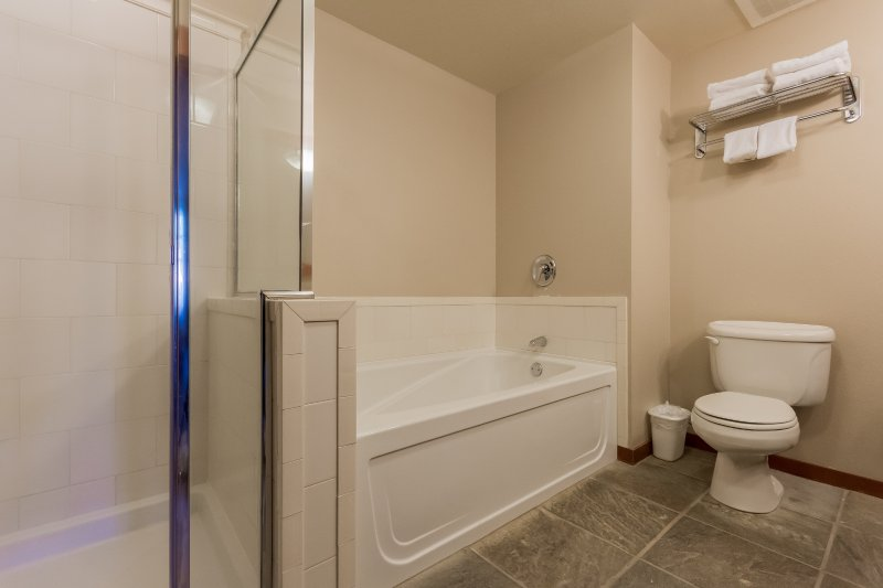 Master En-Suite Bathroom- Tub and Shower