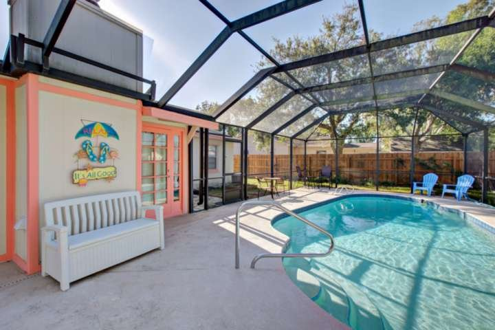 It's ALL Good! When there's fun in the sun in this lovely pool home!