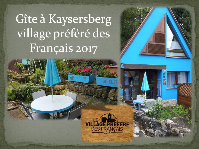 GITE AU BLEUET KAYSERSBERG ALSACE, holiday rental in Kaysersberg-Vignoble