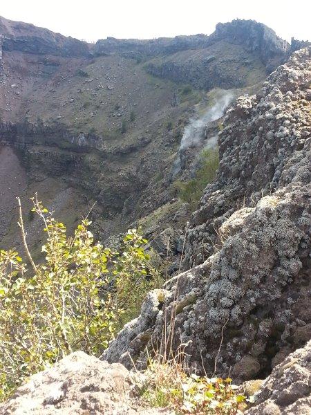 Fumarola Monte Vesúvio