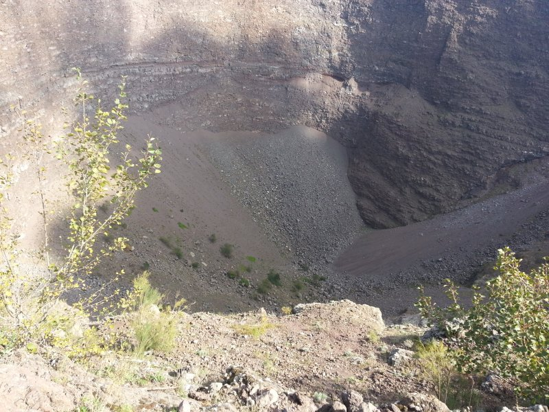 Vesúvio cratera