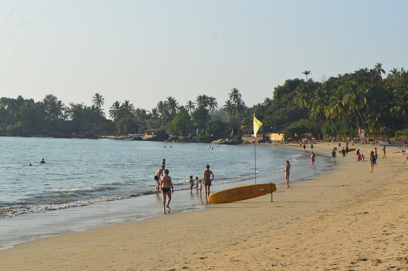 Patnem Beach - 10 min walk