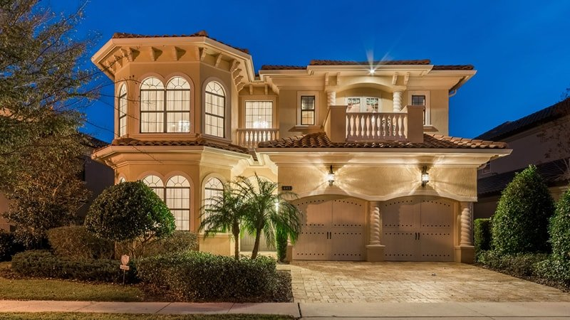 Back 9 Luxury home at Reunion