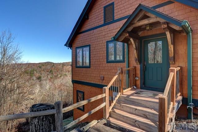Our cabin was built in 2009 and has a rustic feel while offering modern amenities inside.