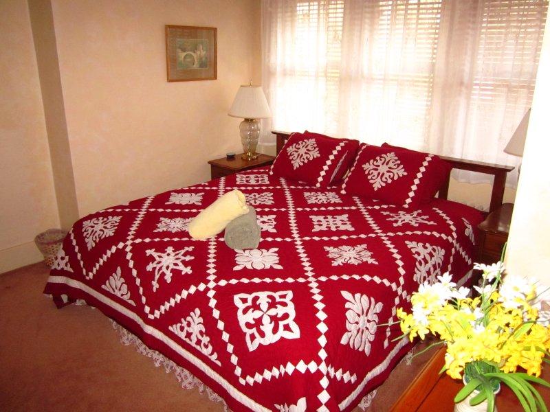 Segundo andar quarto # 3 - Cama king size