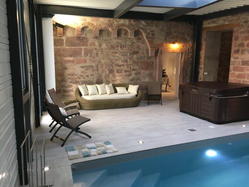 Wellness La Tour des Remparts Swim & SPA, holiday rental in Petersbach