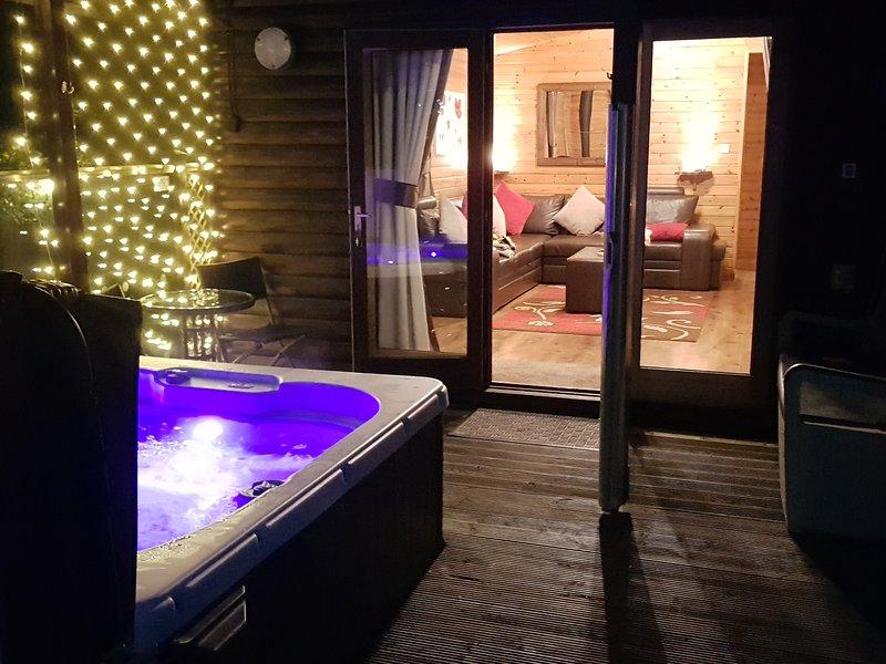 nossa banheira de hidromassagem privada