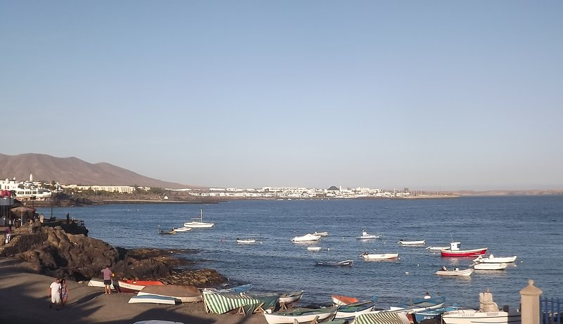 The Marina from Playa Blanca Harbour