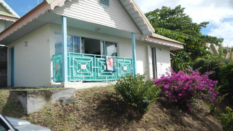 maison meublée touristique  dans residence le carbet de madinina, holiday rental in Le Carbet