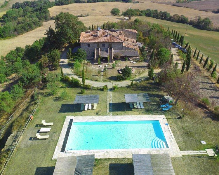 Casale Refoli - Melograno 4 people, casa vacanza a Monteguidi