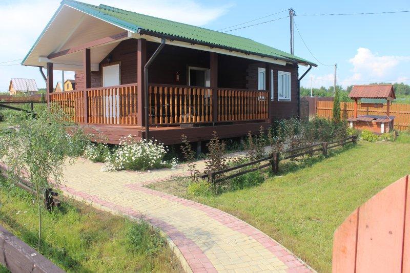 Дачный дом с сауной посуточно, location de vacances à Kashira