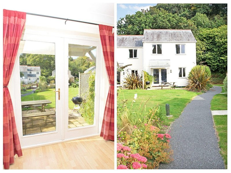 TAMARISK COTTAGE, modern, purpose built holiday home, tennis courts and, Ferienwohnung in Maenporth