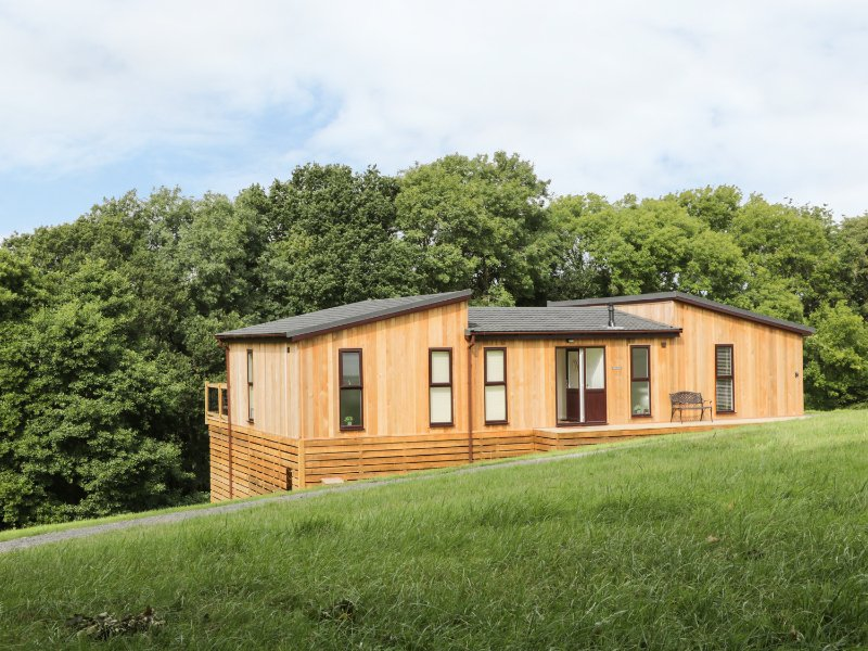 WILLOW LODGE, WIFI, hot tub, decking, Ref 960722, vacation rental in Cleobury Mortimer