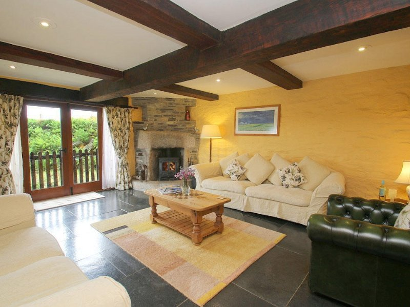 Westhayes, Camelford, holiday rental in Treveighan