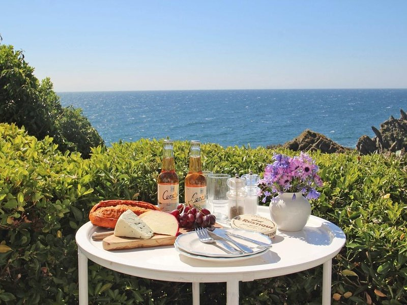 THE STUDIO chalet style apartment, light and airy, enclosed garden, stunning, holiday rental in Polperro