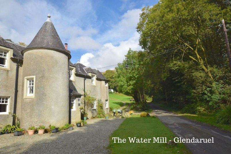 The Joiner's Shop is part of the Water Mill - easy to recognise