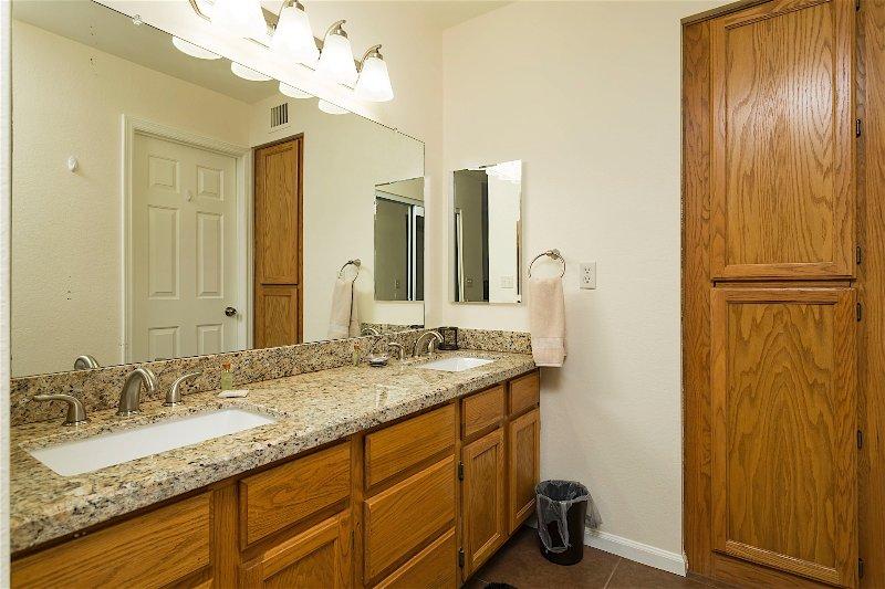 Interior, cocina, salón, armarios, muebles