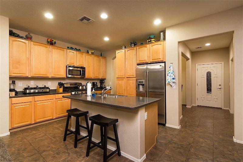 Indoors, Kitchen, Room, Fridge, Refrigerator