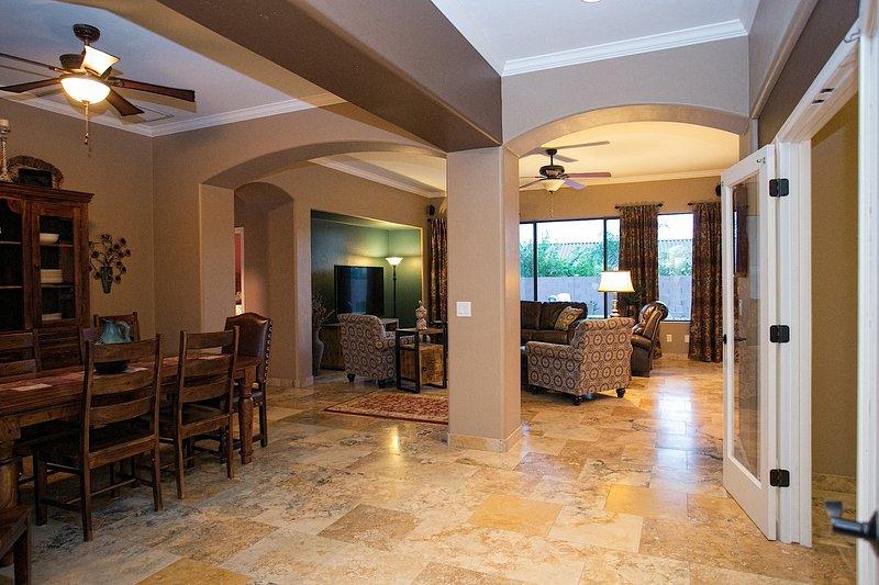 Chair, Furniture, Floor, Flooring, Corridor