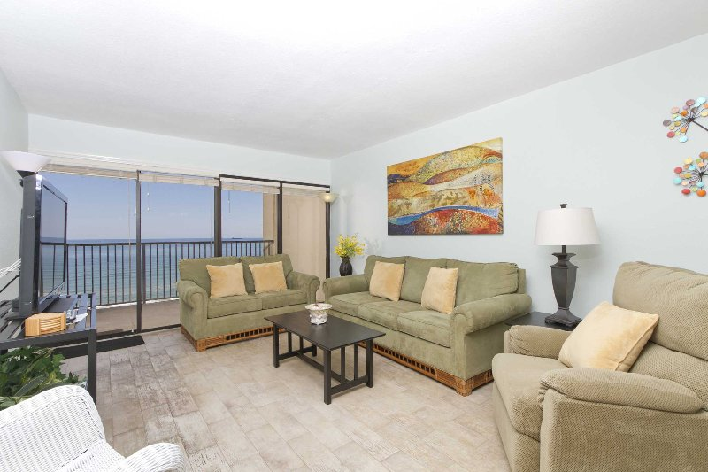 Welcome to Ocean Vista 1103, 11th floor views of the Gulf of Mexico.
